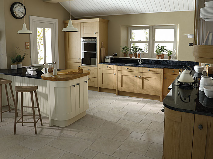 Milbourne oak cheap kitchens ireland fitted kitchens for Kitchen designs ireland