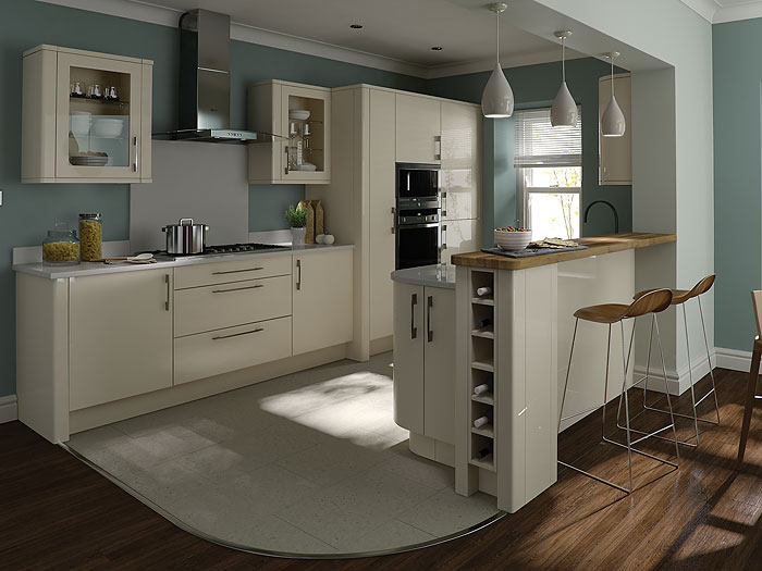Gloss kitchens cheap kitchens ireland fitted kitchens for Kitchen designs ireland