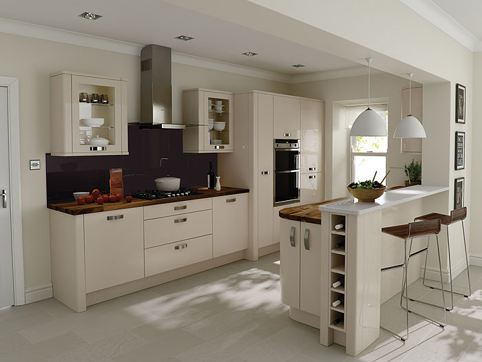 Kitchens kitchens ireland kitchen design fitted kitchens - Porter Beige Cheap Kitchens Ireland Fitted Kitchens